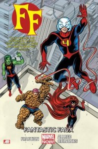 Cover of Fantastic Faux by Matt Fraction