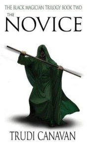Cover of The Novice by Trudi Canavan