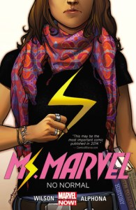 Cover of Ms Marvel: No Normal by Adrian Alphona