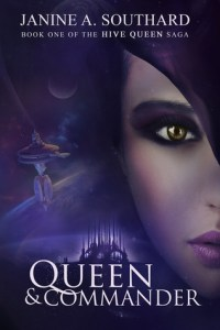 Cover of Queen & Commander by Janine A. Southard