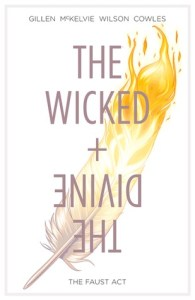 Cover of The Wicked + The Divine by Jamie McKelvie and Kieron Gillen