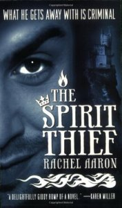 Cover of The Spirit Thief by Rachel Aaron