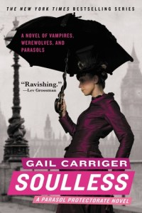 Cover of Soulless by Gail Carriger
