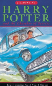 Cover of Harry Potter and the Chamber of Secrets by J.K. Rowling