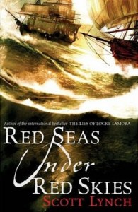 Cover of Red Seas Under Red Skies by Scott Lynch