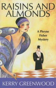 Cover of Raisins and Almonds by Kerry Greenwood