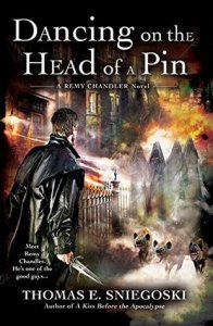 Cover of Dancing on the Head of a Pin by Thomas Sniegoski