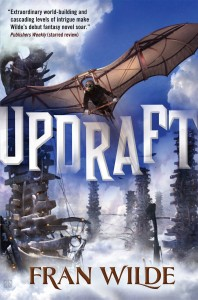 Cover of Updraft by Fran Wilde