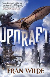 Cover of Updraft by Fran Wilde
