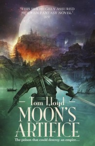 Cover of Moon's Artifice by Tom Lloyd