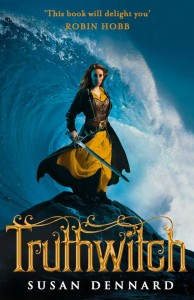 Cover of Truthwitch by Susan Dennard