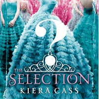 Thumbnail of the cover of Kiera Cass' The Selection, with a question mark over it