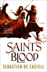 Cover of Saint's Blood by Sebastien de Castell