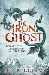 Cover of The Iron Ghost by Jen Williams