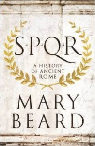 Cover of SPQR by Mary Beard