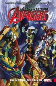Cover of The All-New All-Different Avengers: The Magnificient Seven