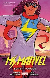 Cover of Ms Marvel: Super Famous