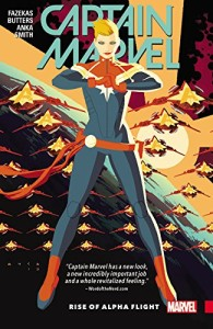 Cover of Captain Marvel: Alpha Flight