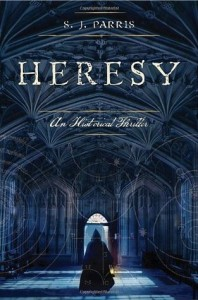 Cover of Heresy by S.J. Parris