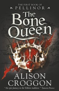 Cover of The Bone Queen by Alison Croggon