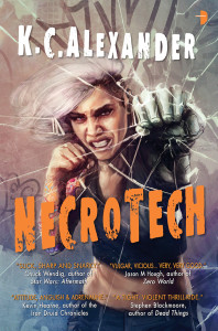 Cover of Necrotech by K.C. Alexander