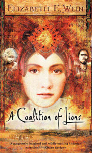 Cover of A Coalition of Lions by Elizabeth Wein