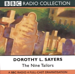 Cover of The Nine Tailors by Dorothy L. Sayers, audio version