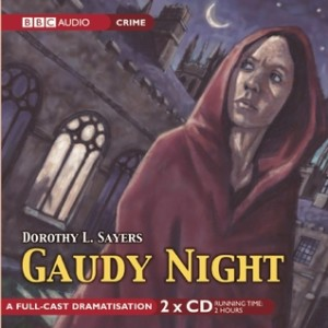 Cover of Gaudy Night by Dorothy L. Sayers, audio version