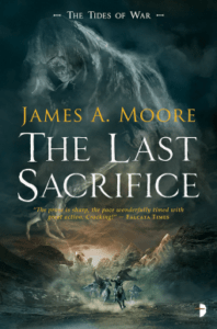 Cover of The Last Sacrifice by James A. Moore