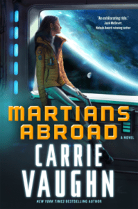 Cover of Martians Abroad by Carrie Vaughn