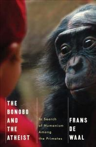 Cover of The Bonobo and the Atheist by Frans de Waal