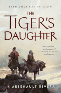 Cover of The Tiger's Daughter by K. Arsenault Rivera