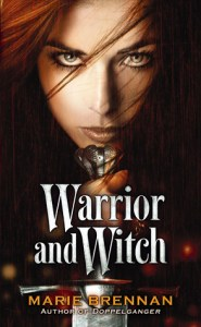 Cover of Warrior and Witch by Marie Brennan