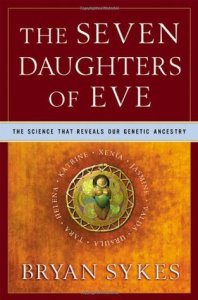 Cover of The Seven Daughters of Eve by Bryan Sykes