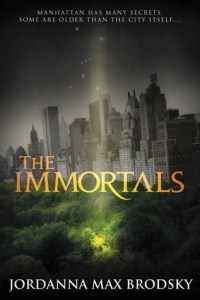 Cover of The Immortals by Jordanna Max Brodsky