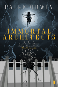 Cover of Immortal Architects by Paige Orwin