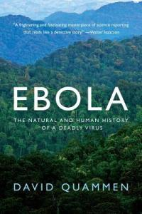 Cover of Ebola by David Quammen