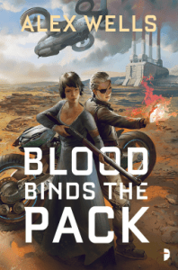 Cover of Blood Binds the Pack by Alex Wells