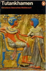 Cover of Tutankhamen by Christiane Desroches-Noblecourt