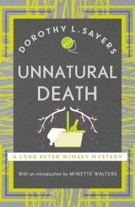 Cover of Unnatural Death by Dorothy L. Sayers