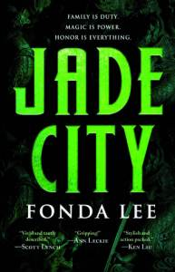 Cover of Jade City by Fonda Lee