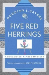 Cover of Five Red Herrings by Dorothy L. Sayers