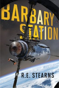 Cover of Barbary Station by R.E. Stearns