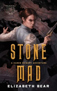 Cover of Stone Mad by Elizabeth Bear