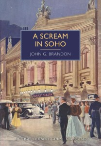 Cover of A Scream in Soho by John G. Brandon