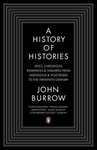 Cover of A History of Histories by John Burrow