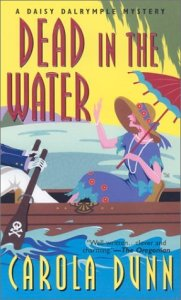 Cover of Dead in the Water by Carola Dunn