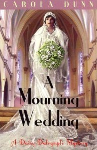 Cover of A Mourning Wedding by Carola Dunn.