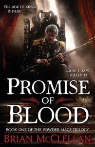 Cover of Promise of Blood by Brian McClellan