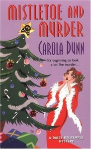 Cover of Mistletoe and Murder by Carola Dunn